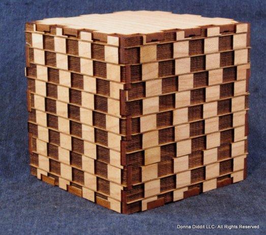 Cube Optical Illusion