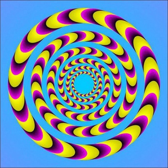 Beautiful Spiral Illusion