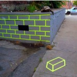 Missing Brick Optical Illusion