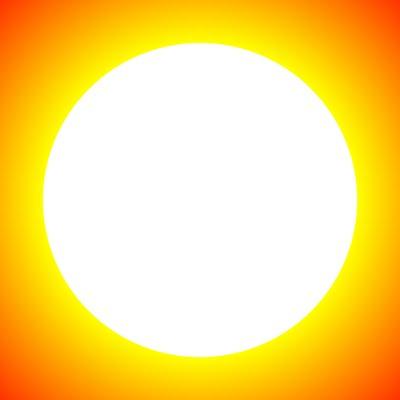 Expanding Sun Optical Illusion