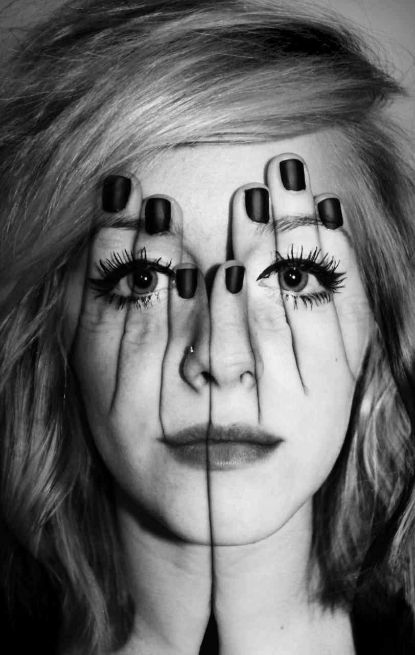 Face Paint Optical Illusion