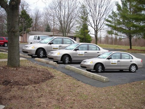 Car Sizes Optical Illusion