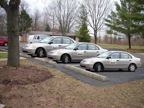 Car Sizes Optical Illusion
