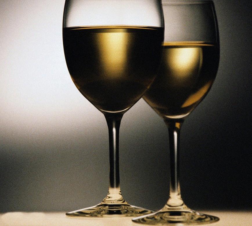 Wine Glass Optical Illusion