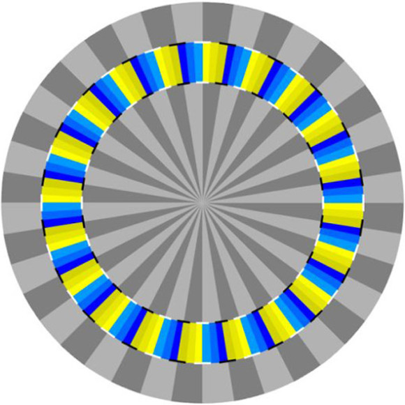 Rotating Optical Illusion