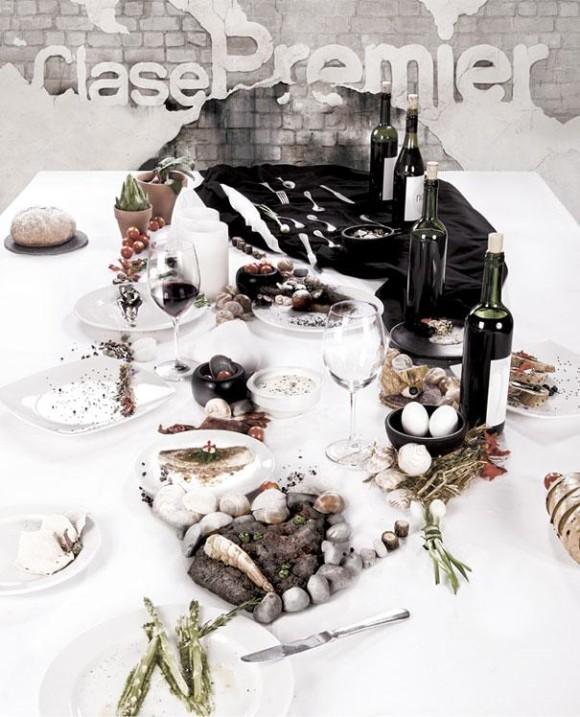 Dinner Table Optical Illusion