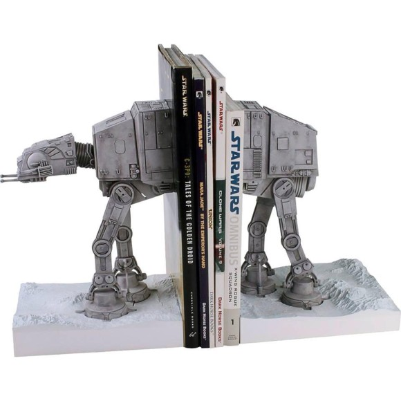 Star Wars Book Ends Optical Illusion