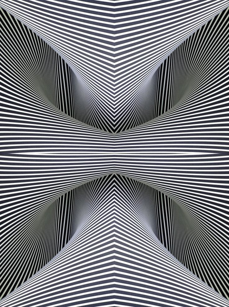 Optical Illusions Square Two Direction S...