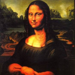 The Mona Lisa Vision Test