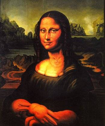 The Mona Lisa Vision Test