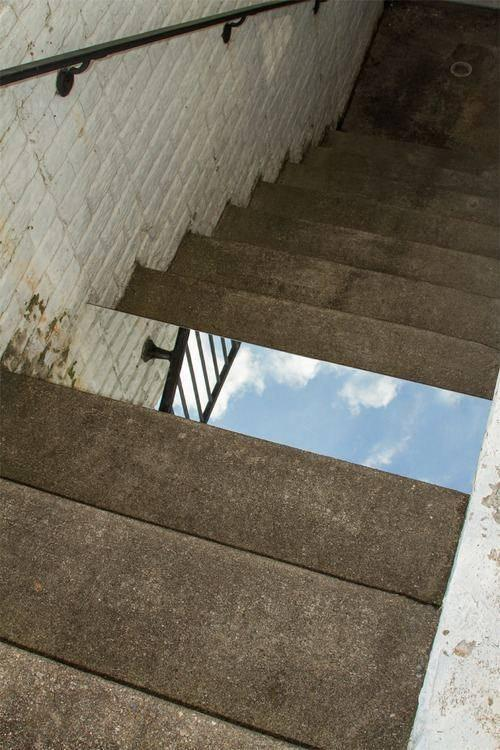Stairway to Heaven Optical Illusion
