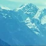 Mountain Face Optical Illusion