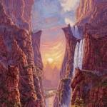 hidden native american spirit optical illusion