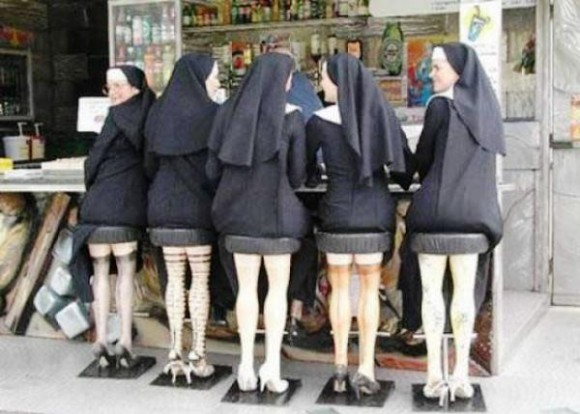nun opticasl illusion