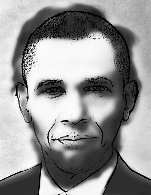 Barrack Obama Optical Illusion…Or Is It?