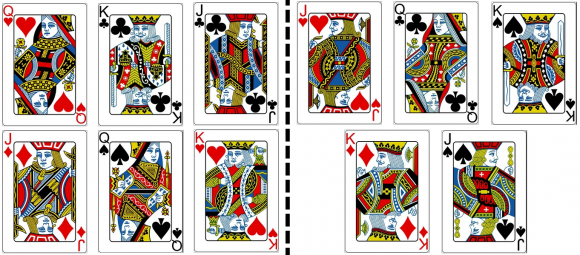 card trick optical illusion 3