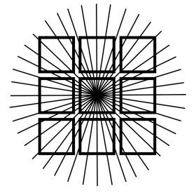 Bent Squares Illusion