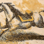 hidden horse rider illusion 1