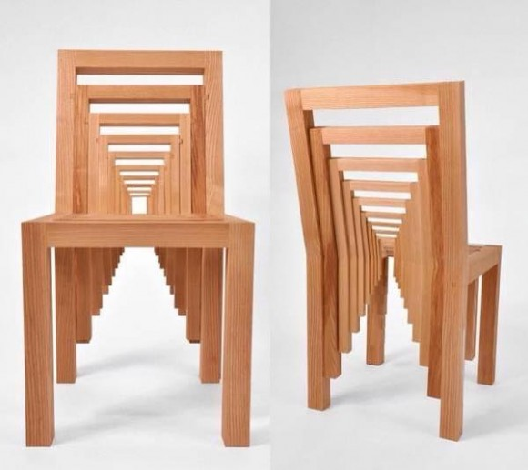 Awesome Optical Illusion Chair