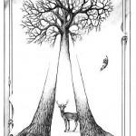 trees deer