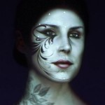 face projection mapping with kat von d