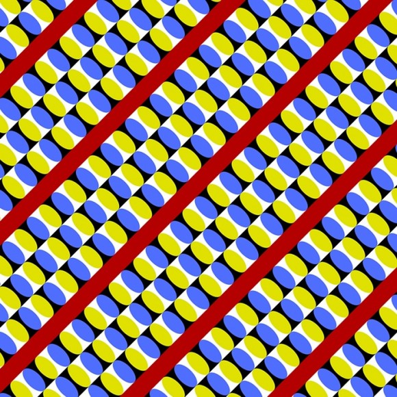 moving optical illusion illusions trippy move appear called moillusions peripheral seem yellow mighty effect