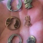 cutout coins