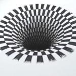 hole drawing illusion