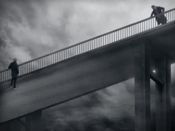 surreal bridge