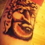 tattoo optical illusion