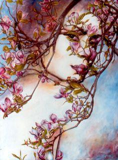 Stunning Tree Face Illusion