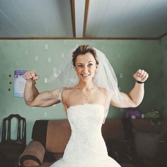 super strong bride illusion