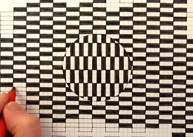 Simple way to draw optical illusion images mighty optical illusions