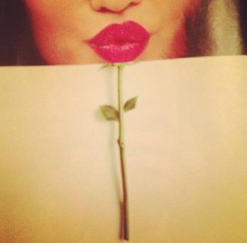 rosy lips illusion