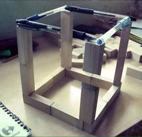 Awesome Twist on the Impossible Cube