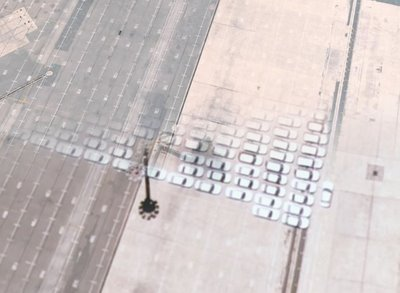 Ghost Cars Army in Google Earth