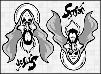 Jesus Vs. Satan Illusion