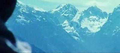 Mountain Head Optical Illusion