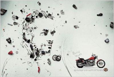 Motorbike Faces Illusion