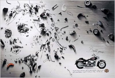 Motorbike Faces Illusion