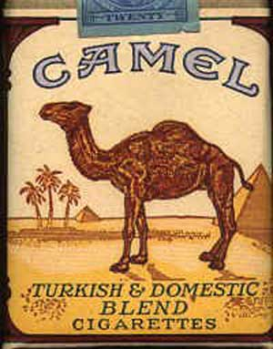Camel Cigarettes Illusion