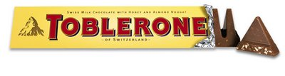 Hidden Bear in Toblerone Chocolate
