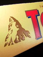 Hidden Bear in Toblerone Chocolate