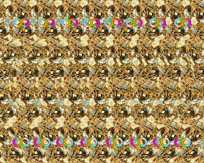 Infinity Stereogram Illusion