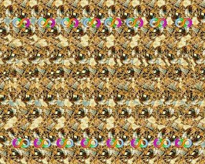 Infinity Stereogram Illusion