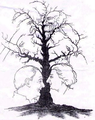 National Leaders Tree Illusion