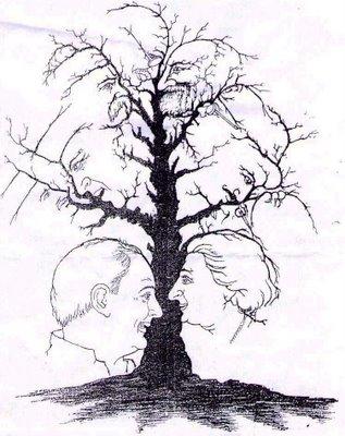 National Leaders Tree Illusion