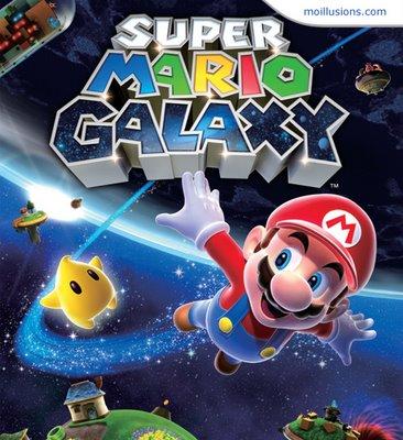 Find Super Mario Galaxy Illusion