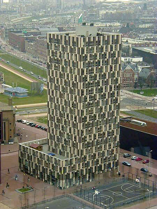 Funny Building Optical Illusion