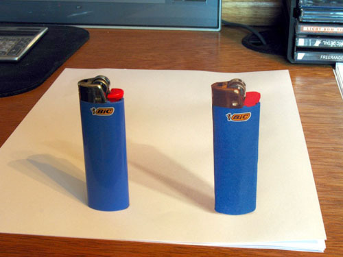 2Lighters How to do 3D Anamorphic Artwork image gallery